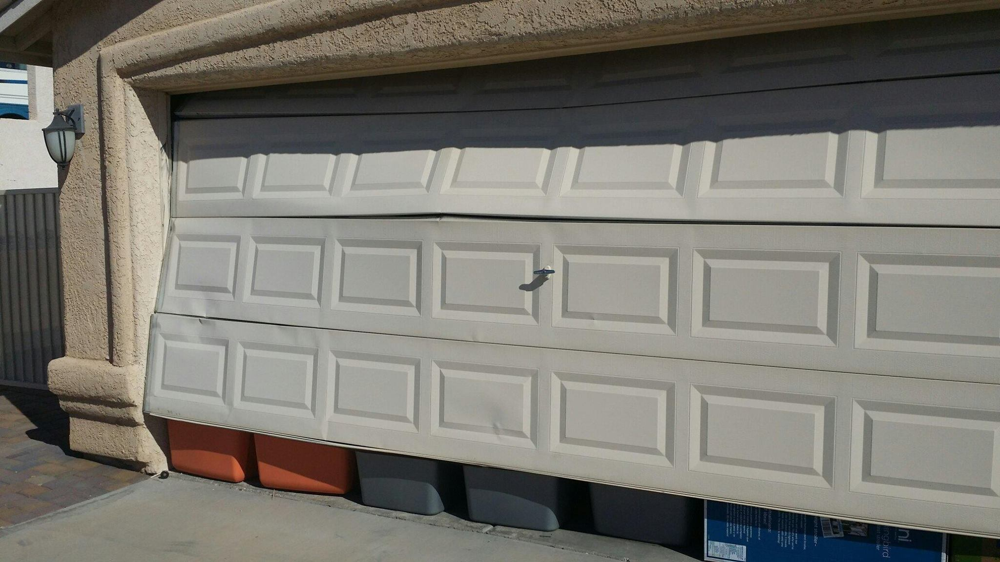 dented-garage-door-arizona